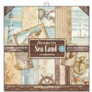 Stamperia - Double-Sided 12 x 12 Inch Paper Pack - Sea Land